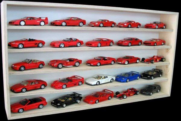 vitrinen für modellautos 1 18